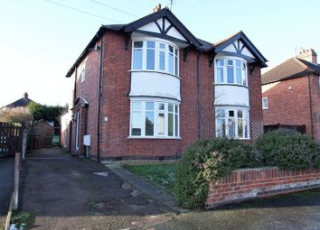 Thumbnail 3 bed semi-detached house for sale in Benscliffe Drive, Loughborough