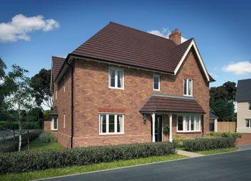 "Thumbnail 4 bedroom detached house for sale in ""Layton"" at Gimson Crescent, Tadpole Garden Village, Swindon"