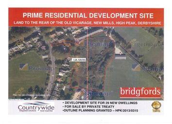 Thumbnail Land for sale in Marsh Lane, New Mills, High Peak, Derbyshire