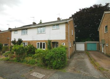Thumbnail 3 bedroom semi-detached house for sale in Trinity Close, Balsham