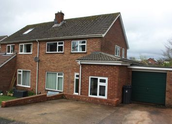 Thumbnail 3 bedroom semi-detached house for sale in Grandisson Drive, Ottery St. Mary