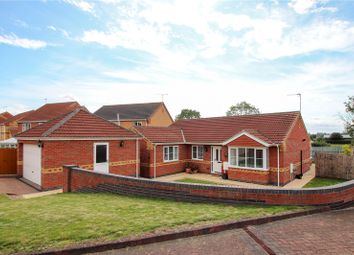 Thumbnail 4 bed bungalow for sale in Heathcroft, Cherry Willingham, Lincoln, Lincolnshire
