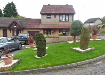 Thumbnail 3 bed link-detached house for sale in Glen Fruin Place, Chapelhall, Airdrie