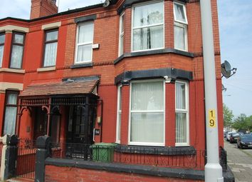 Thumbnail 6 bed end terrace house for sale in Park Road North, Birkenhead