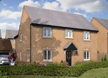 "Thumbnail 5 bed detached house for sale in ""The Burghley"" at Gardenfield, Higham Ferrers, Rushden"