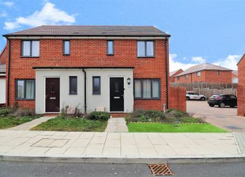 Thumbnail 3 bed semi-detached house for sale in Swann Street, Ebbsfleet Valley, Swanscombe
