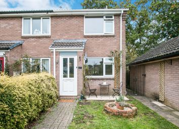 Thumbnail 2 bedroom end terrace house for sale in Purbeck Drive, Verwood