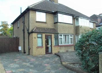 Thumbnail 3 bed semi-detached house for sale in Temple Road, Epsom