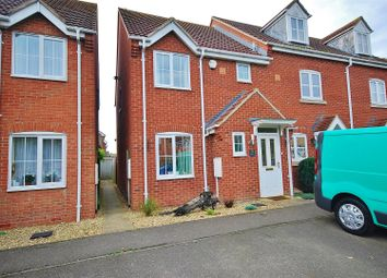 Thumbnail 3 bed terraced house to rent in Juniper Crescent, Spalding