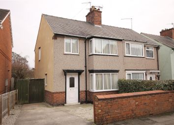 Thumbnail 3 bed semi-detached house for sale in Vincent Crescent, Brampton, Chesterfield
