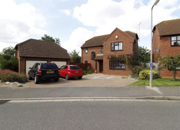 Thumbnail 4 bed detached house for sale in Aquila Way, Langtoft, Peterborough