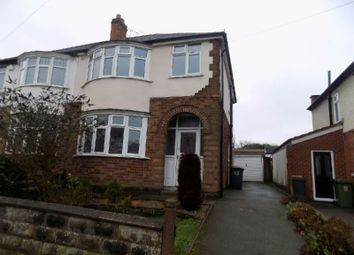 Thumbnail 3 bed semi-detached house to rent in Morban Road, Aylestone Village, Leics.