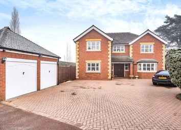 Thumbnail 4 bed detached house for sale in Morton Road, Fernhill Heath, Worcester, Worcestershire