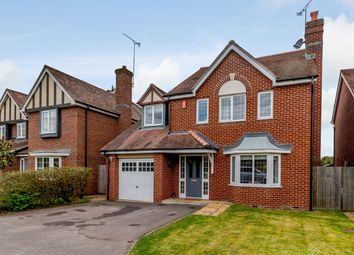 Thumbnail 4 bed detached house for sale in Eaves Close, Addlestone