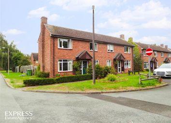 Thumbnail 2 bed semi-detached house for sale in Riverside Drive, Tern Hill, Market Drayton, Shropshire