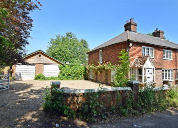 Thumbnail 3 bed semi-detached house for sale in Bimbury Lane, Detling, Maidstone, Kent