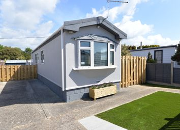Thumbnail 2 bed mobile/park home for sale in Naish Estate, Barton On Sea, New Milton