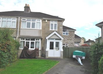Thumbnail 4 bed semi-detached house for sale in Homelea Park West, Newbridge, Bath