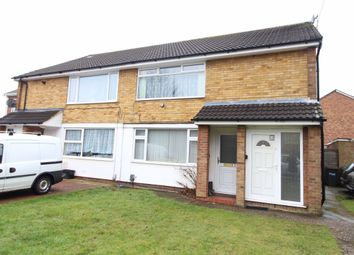 Thumbnail 2 bed maisonette to rent in Chertsey Close, Luton