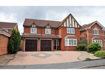 Thumbnail 5 bed detached house for sale in Cobden Avenue, Worcester