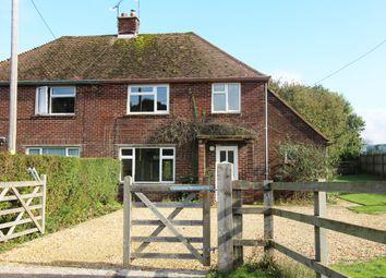 Thumbnail 3 bedroom semi-detached house for sale in Woodlands, Bramdean, Alresford