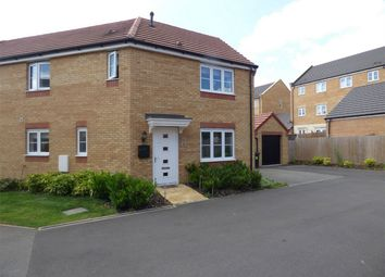 Thumbnail 3 bedroom semi-detached house for sale in Shipton Grove, Hampton Hempsted, Peterborough, Cambridgeshire