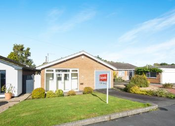 Thumbnail 3 bed detached bungalow for sale in Barry Drive, Kirby Muxloe, Leicester