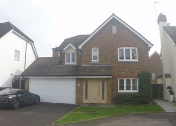 Thumbnail 4 bed detached house for sale in The Fountains, Loughton