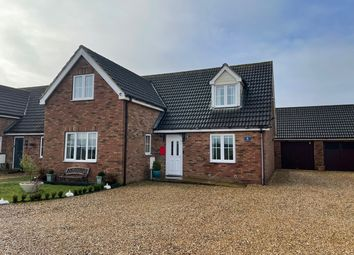 Thumbnail 4 bed detached house for sale in Red Hart Close, Nordelph, Downham Market