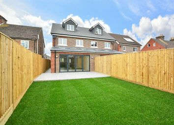 Thumbnail 3 bed semi-detached house for sale in Crawley Road, Horsham