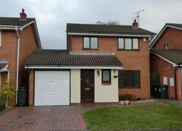 Thumbnail 3 bed detached house for sale in St. Peters Close, Hall Green, Birmingham