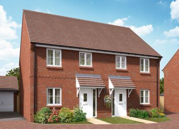 "Thumbnail 2 bed terraced house for sale in ""The Walton"" at Boorley Green, Winchester Road, Botley, Southampton, Botley"