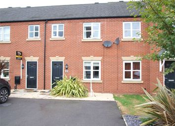 Thumbnail 3 bed town house for sale in Blakeholme Court, Burton-On-Trent, Staffordshire