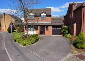 Thumbnail 4 bed detached house for sale in Cleves Close, Swindon