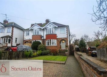 Thumbnail 3 bed semi-detached house for sale in North Road Avenue, Hertford