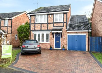 Thumbnail 4 bed detached house for sale in Sandstone Close, Winnersh, Wokingham, Berkshire