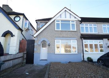 Thumbnail 3 bed end terrace house to rent in Ashen Drive, Dartford, Kent