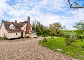 Thumbnail 5 bed farmhouse for sale in Smallworth, Garboldisham, Diss