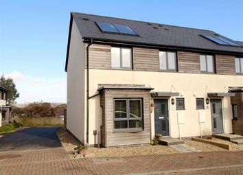 Thumbnail 3 bedroom end terrace house for sale in Cobham Close, Glenholt, Plymouth