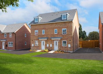 "Thumbnail 3 bed semi-detached house for sale in ""Norbury"" at Station Road, Carlton, Goole"