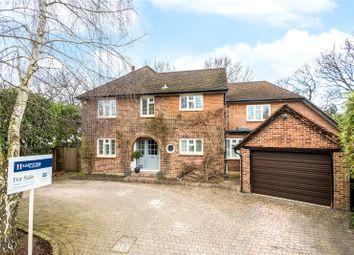 Thumbnail 5 bed detached house for sale in Burwood Park Road, Hersham, Walton-On-Thames, Surrey