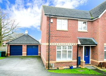Vitellius Gardens, Park Village, Basingstoke RG24. 3 bed semi-detached house for sale