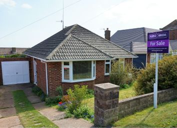 Thumbnail 2 bed detached bungalow for sale in Rodmell Avenue, Brighton