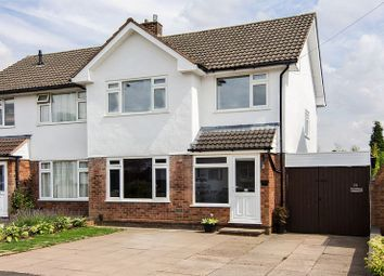 Thumbnail 3 bed semi-detached house for sale in Mountford Crescent, Aldridge, Walsall
