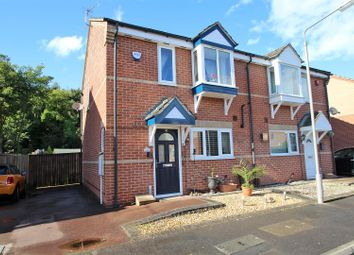 Thumbnail 2 bed semi-detached house for sale in Sands Close, Colwick, Nottingham