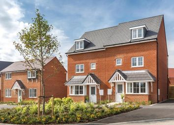 """Thumbnail 4 bedroom terraced house for sale in """"Woodvale"""" at Robell Way, Storrington, Pulborough"""