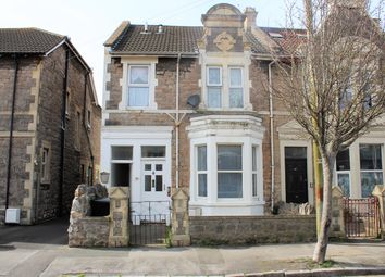 Thumbnail 1 bed flat for sale in Whitecross Road, Weston Super Mare