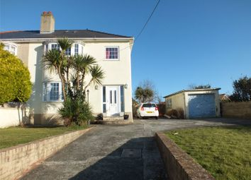 Thumbnail 3 bedroom semi-detached house for sale in Pill Lane, Milford Haven, Pembrokeshire