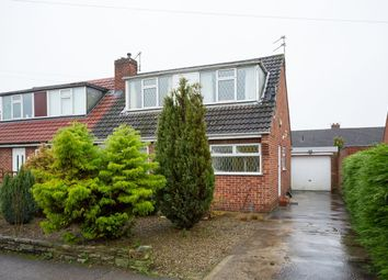 Thumbnail 3 bed bungalow for sale in York Road, Strensall, York