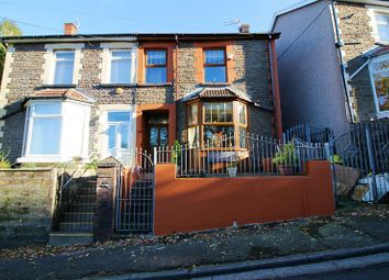 Thumbnail 2 bed semi-detached house for sale in Woodland Villas, Llantrisant Road, Penycoedcae, Pontypridd